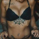 Between-The-Boobs Tattoos